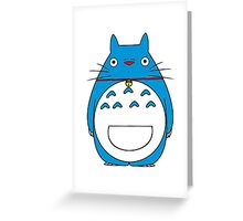 Totoraemon Greeting Card