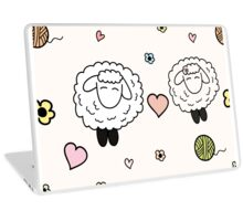 Sheep in love Laptop Skin