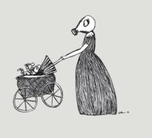 Taking my baby for a stroll by Octavio Velazquez
