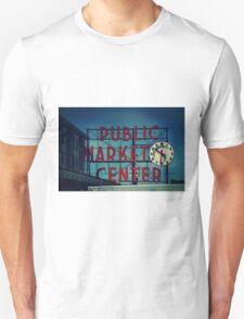Pike Place Market Seattle Washington Unisex T-Shirt