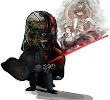""""""" Lord Vader Reminiscing"""" by ScribblePuff"""