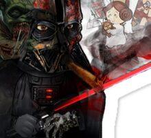 """ Lord Vader Reminiscing"" Sticker"