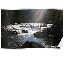 Dougan Falls - on the Washougal River Poster