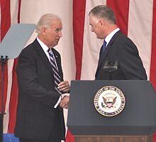 Vice President Joseph R. Biden Jr. and The Honorable William J. Lynn, III by Matsumoto