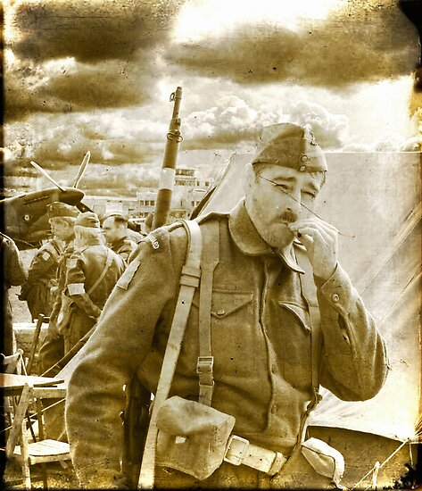 """Private """"Walker"""" - Dad`s Army - 1940 by Colin J Williams Photography"""
