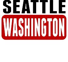Seattle Washington by GiftIdea