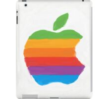 Classic Apple Logo - Painted iPad Case/Skin