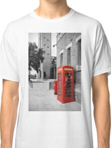 Red Telephone & Post Box Classic T-Shirt