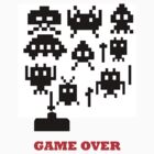 Space invaders by Stephen Kane