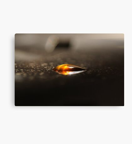 Drop of Maple Syrup Canvas Print