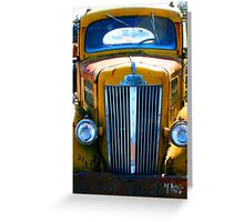 Semi Retired - Chehalis, Washington Greeting Card