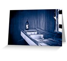Just the kitchen sink Greeting Card