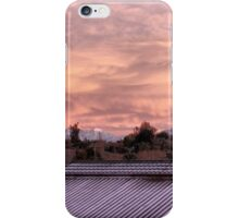 Pink Past the Rooftops iPhone Case/Skin