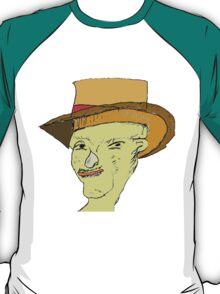 Folk Face Grandpa T-Shirt