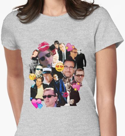 emoji roth  Womens Fitted T-Shirt