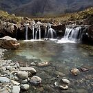 The Fairy Pools, Isle of Skye by Claire Tennant