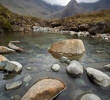 The Fairy Pools, Isle of Skye II by Claire Tennant
