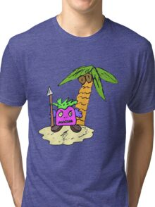 Planet of the Grapes Tri-blend T-Shirt
