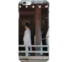 Shinto Wedding Procession iPhone Case/Skin
