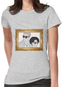 Glasses (framed) Womens Fitted T-Shirt