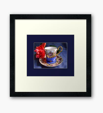 Demitasse, Bavaria Framed Print