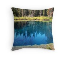 Little Crater Lake - Mount Hood, Oregon Throw Pillow