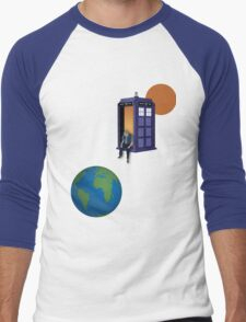 Doctor Who - A WhoView Men's Baseball ¾ T-Shirt