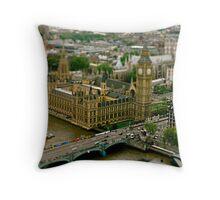 Toy London Throw Pillow