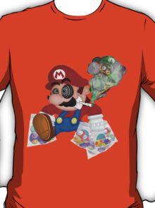 Mushed Mario T-Shirt