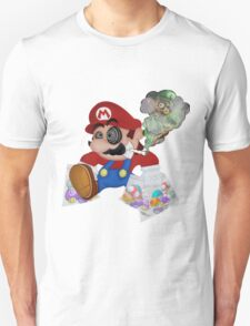 Mushed Mario Unisex T-Shirt