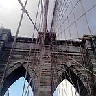 Brooklyn Bridge, New York, Detail by corder-courtier