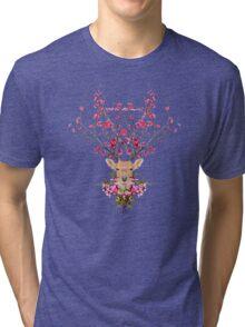 Spring Deer Tri-blend T-Shirt