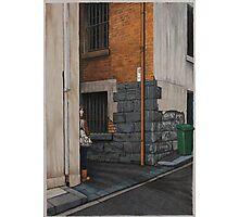 Secret Meeting III, Pencil, 69x48cm. Photographic Print
