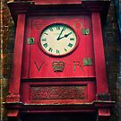 The Old Post Office Clock by ajgosling