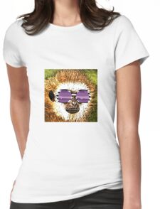 Art Monkey Style Womens Fitted T-Shirt