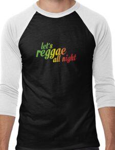 Let's reggae all night css Men's Baseball ¾ T-Shirt
