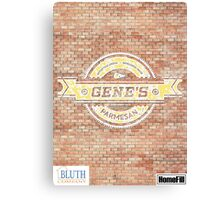 Gene's Parmesan Logo - Arrested Development Canvas Print
