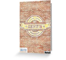 Gene's Parmesan Logo - Arrested Development Greeting Card