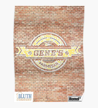 Gene's Parmesan Logo - Arrested Development Poster
