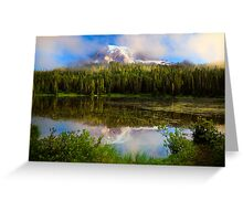 Misty Reflection Greeting Card