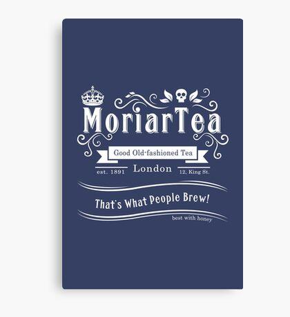 MoriarTea 2014 Edition (white) Canvas Print