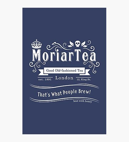 MoriarTea 2014 Edition (white) Photographic Print