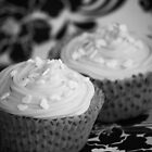 Black and White Cupcakes by Framed-Photos