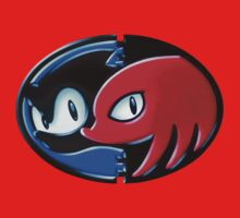 Sonic and Knuckles  by chrisax1