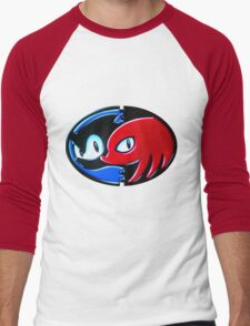 Sonic and Knuckles  Men's Baseball ¾ T-Shirt