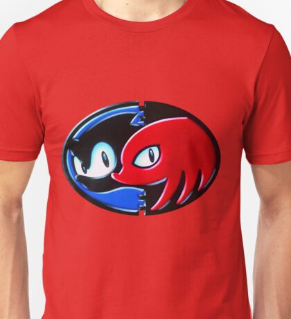 Sonic and Knuckles  Unisex T-Shirt