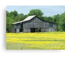 A Tennessee Barn Canvas Print