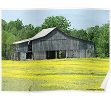 A Tennessee Barn Poster
