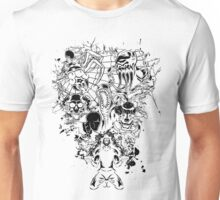 A Figment of Your Imagination - Inverted Unisex T-Shirt