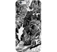 New York  map 1 iPhone Case/Skin